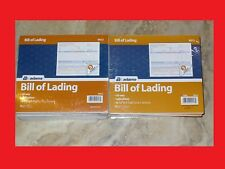 Lot of 16 Adams Bill of Lading Short Form 9013, 8.5 X 7.5 In, 3-part, 50-forms