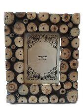 Bohème Antique En bois Cadre Photo Support Libre Détient 12.7cmX17.8cm Cadeau