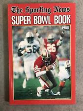 THE SPORTING NEWS TSN NFL FOOTBALL SUPER BOWL BOOK GUIDE - 1985