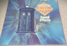 DOCTOR WHO SOUND EFFECTS 1st PYE UK RED VINYL LP 1978 BBC RADIOPHONIC WORKSHOP