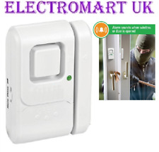 SHOP DOOR WINDOW ENTRY ALERT SENSOR VISITOR SECURITY CHIME ALARM 110DB