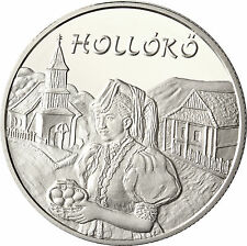 Ungheria 5000 FIORINO ARGENTO 2003 stgl. UNESCO patrimonio culturale: hollókö DT. Raben pietra