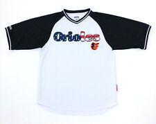 Orioles Jersey By Stiches Mens Medium Patriotic Logo Print