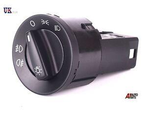 HEADLIGHT SWITCH - FOG LIGHT FOR VW GOLF MK4 BORA PASSAT POLO BEETLE SHARAN LUPO
