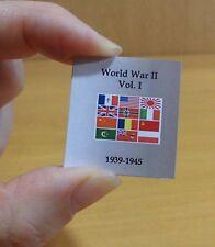 World War II. Vol. I Miniature Book. Scale 1:12
