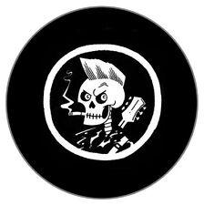 ROCKABILLY - SKULL - PUNK MUSIC THEMED - 55MM FRIDGE/FREEZER/LOCKER MAGNET