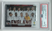 🔥2014 PANINI PRIZM WORLD CUP TEAM PHOTOS #13 ENGLAND PSA 10 🔥WAYNE ROONEY🔥