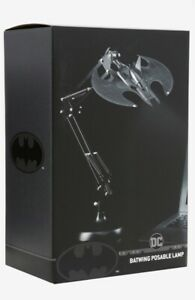 Batman The Dark Knight Batwing Desk Lamp Poseable Dc Comics Official EXCLUSIVE