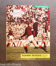 [GCG] BB51 - Clipping-Ritaglio - 1990 - GIANNI RIVERA - MILAN