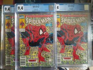 Spider-Man #1 newsstand upc mc farlane 1990 lizard appearance