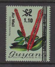 1981 Royal Wedding Charles & Diana MNH Stamp Guyana obliterated bars surch 1.10