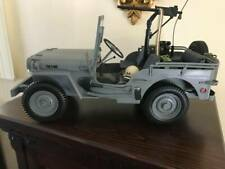 1:6  SCALE  HASBRO US NAVY WILLYS JEEP RARE