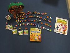 Moshi Monsters Tree House, moshipedia book, sticker collection & 100+ Moshis _GC