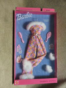 Barbie Metro A.M in Aspen Fashion Avenue Pajamas Slippers Outfit Set 2001 Mattel