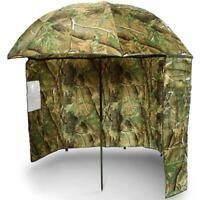 Angelschirm 220cm mit Umhang camouflage Camo Brolly Schirmzelt Karpfen Schirm