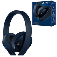 Sony PS4 Gold Wireless Headset 500 Million Limited Edition