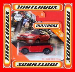 MATCHBOX 2020   2014 RANGE ROVER EVOQUE   31 /100   NEU&OVP