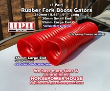 30mm Rubber Fork Boots Gators Gaiters Kawasaki 82-85 GPz 550 80-83 KE175 EX250
