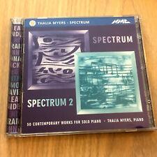 Thalia Myers - Spectrum / Spectrum 2 : 50 Contemporary Piano Works (2 x CD 1999)