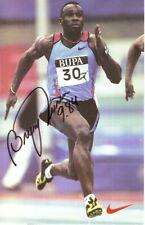 Bruny Surin (14X22 cm) Original Autographed Photo