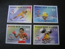PAPUA NEW GUINEA, SCOTT # 992-995(4),2000 COMPLETE SUMMER OLYMPICS SSUE MNH