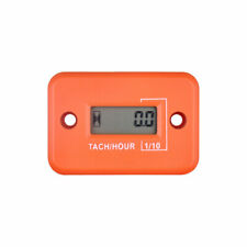 (Orange,2/4 Stroke) Chainsaw Engine Tachometer Digital tachometer motorcycle