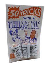 Thumb Tip Kit for Magic Tricks