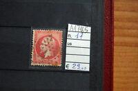 FRANCOBOLLI FRANCIA USATI N. 17 (A17165)