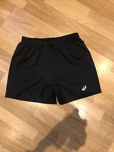 Asics Black Running Shorts XL