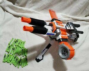 Nerf N-strike Rhino-Fire Elite Blaster Machine Gun with Bullets
