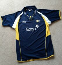 Durham Dynamos Official Cricket Shirt Cotton Traders Size M
