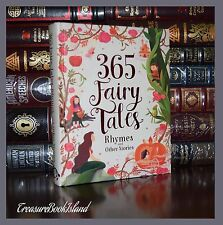 365 Fairy Tales Rhymes Stories Illustrated Ribbon Marker New Gift Hardcover