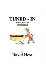 TUNED - IN For Tuned Pecussion Solos Booklet David Hext Sheet Music Book