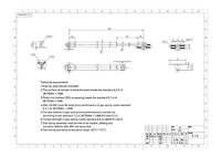 "7.44"" extend length - 60N/13.5lb Extension Damper ZQL189-55-15-6-60N"