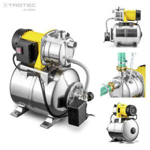 TROTEC Pompe Surpresseur TGP 1025 ES ES Pompe à eau domestique acier inoxydable