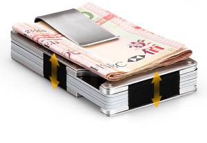 MODERN Metal Aluminum Wallet Men Wallet Creative Fashion