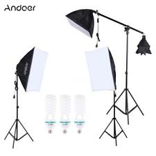 Softbox Light Stand Photo Studio Photography Continuous Lighting Kit 5500K 135W