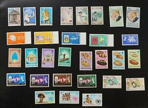 Gilbert collection of VF MNH complete sets (v145)