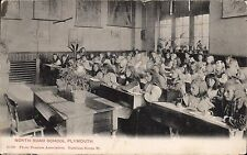 Plymouth. North Road School # 22560 by Photo Tourists Association. Classroom.