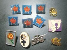 13 DIFFERENT METAL PINS CANADA