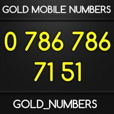 EASY GOLD 786 VIP 786786 GOLDEN 786 786 MOBILE PHONE NUMBER 07867867151