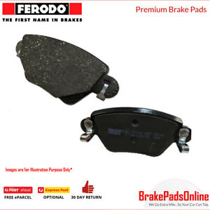 Brake Pads for VOLKSWAGEN CARAVELLE T5 2.5L BNC SOHC 10v Turbo Diesel 5cyl Rear