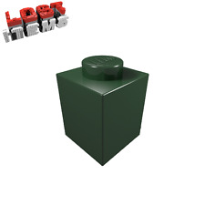 20 x [neu] LEGO Baustein 1 x 1 - dunkelgrün - 3005