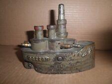 "Wonderful old original cast iron Large 6"" Oregon Battleship still bank c.1898"
