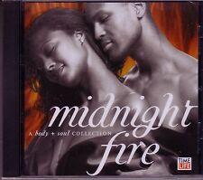 Time Life Body Soul MIDNIGHT FIRE CD Classic R&B AS SEEN TV TONI BRAXTON SISQO