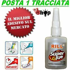Super COLLA ISTANTANEA CIANOACRILATO 20 ML ADESIVO LOCTITE tipo Attak Wrap TOP