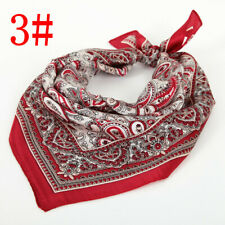 New Women's Silk Kerchief Scarves Square Neck Spring Summer Scarfs 3 # LB070502