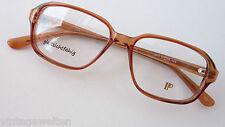 Rotbraune Kunststoffbrille Männerfassung eckige große Form oldschool GR:M frame