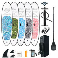 Inflatable SUP Stand Up Paddle Boar 6'' thick Surfboard w/Complete accessories