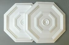 Decorators Bargain - 2 x Polystyrene Ceiling Rose 460mm<//>FREE P&P Shop Soiled